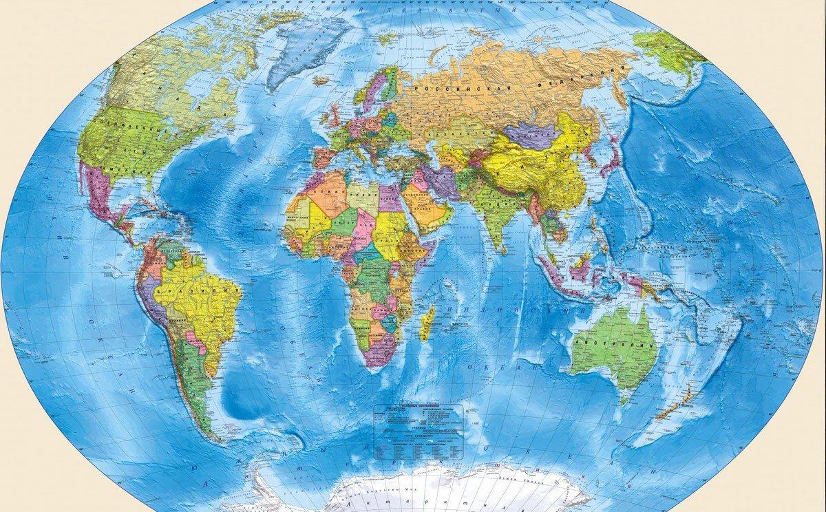 картинки карт мира большого разрешения своих