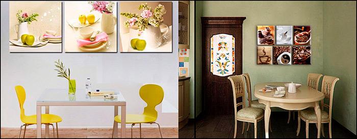 Картины для оформления кухни