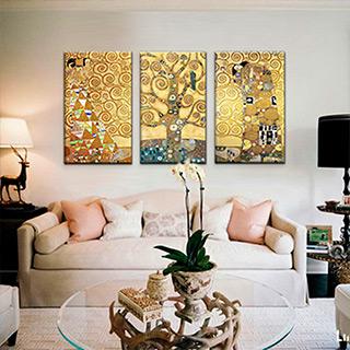 Картины известных художников в интерьере