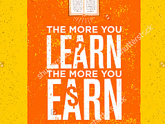 """The more you learn"""