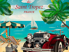"""Welcome to Saint Tropez"""