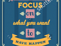 """Focus on"""